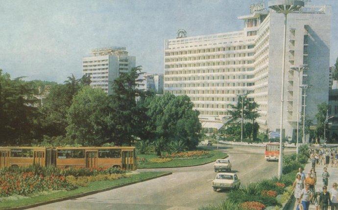 Гостиницы Сочи, обзор развития