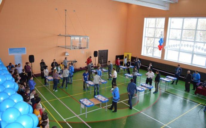 Первый турнир по настольному хоккею - Городское поселение Селятино