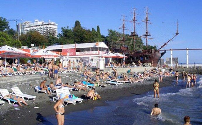 Пляж Жемчужина - один из лучших закрытых пляжей в Сочи