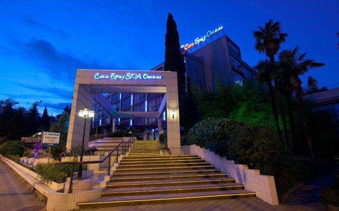 Сочи Бриз SPA-отель (Россия Сочи) - Booking.com