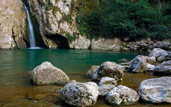 Сочи – край водопадов